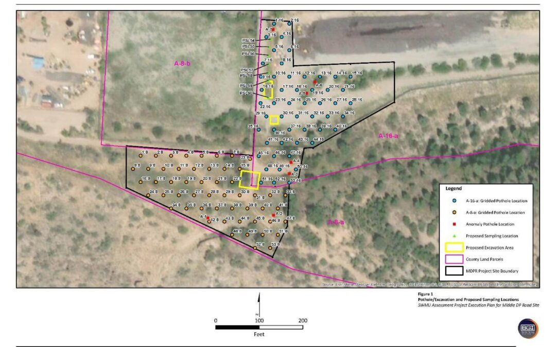 Planning, Fieldwork, And Reporting Associated with The Middle Delta Prime Road Project